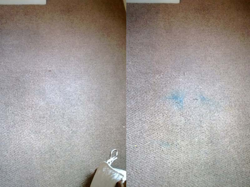Before and after photos of our carpet cleaning jobs
